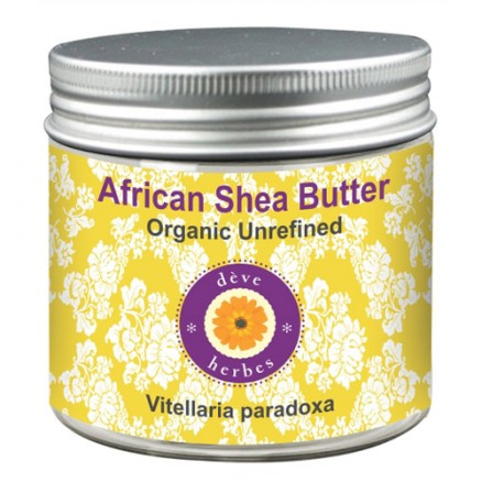 Organic African Shea Butter Unrefined (Vitellaria paradoxa) 100% Pure Natural Therapeutic Grade - Variation Available (50gm-100gm) (1.76 -3.52oz )