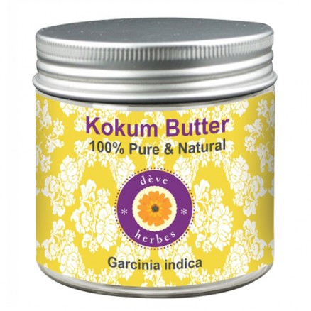 Pure Kokum Butter (Garcinia Indica) 100% Pure Natural Therapeutic Grade 50gm