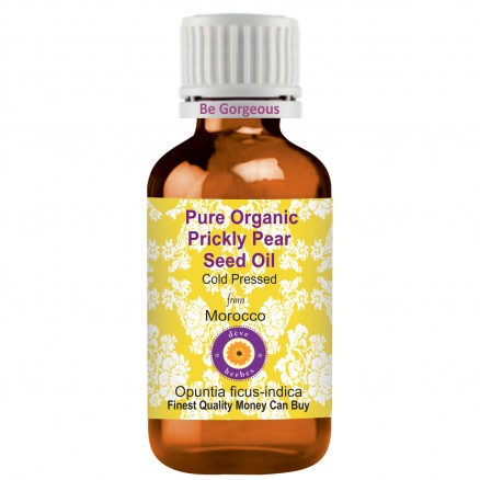 Pure Organic Prickly Pear Seed Oil -Opuntia ficus-indica