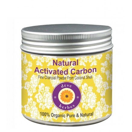 Natural Activated Carbon Fine Charcoal Powder From Coconut Shell 100% Organic Pure & Natural